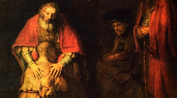 rembrandt-heimkehr des verlorenen Sohns