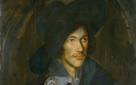 Handout photograph shows picture by an unknown artist of iconic 16th century English poet Donne...A handout photograph released on January 27, 2006 shows a unique picture by an unknown artist of iconic 16th century English poet John Donne. Britain's National Portrait Gallery launched a public appeal for 1.6 million pounds ($2.85 million) on Friday to buy the oil on panel portrait. REUTERS/National Portrait Galley/Handout